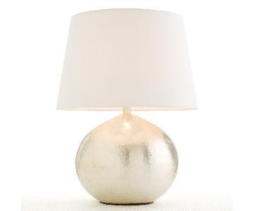 Arteriors Armand Riviera Hammered Iron Table Lamp