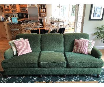 Kravet Green Fabric Sofa