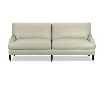 William-Sonoma Pierce Leather Sofa
