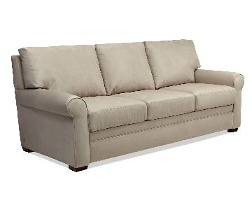 American Leather Gaines Microfiber Sleeper Sofa