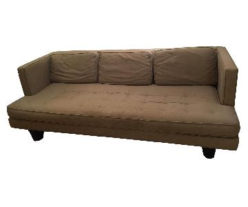Design Within Reach Off-White 3-Seater Sofa
