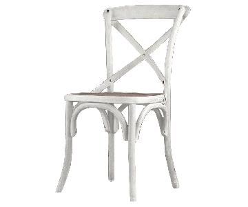 Restoration Hardware Madeleine Rattan Side Chairs