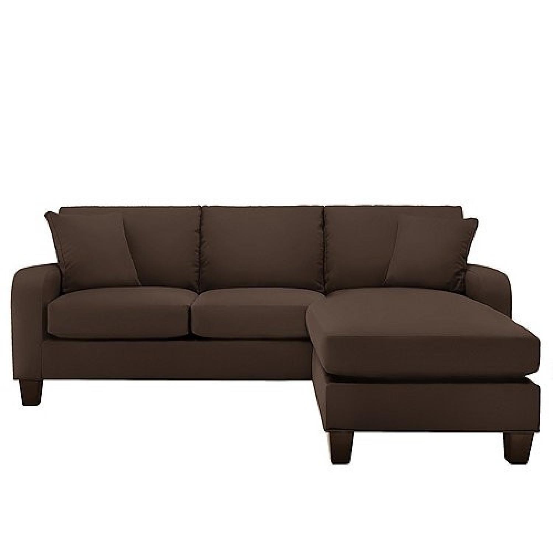 Raymour & Flanigan Bailey Reversible Sectional Sofa & Chair