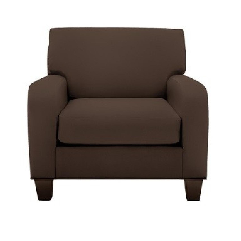 Raymour & Flanigan Bailey Reversible Sectional Sofa & Chair-0