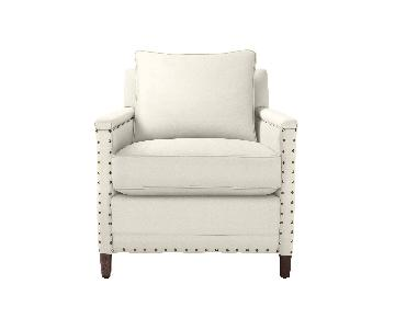Serena & Lily Spruce Street Chairs w/ Nailheads