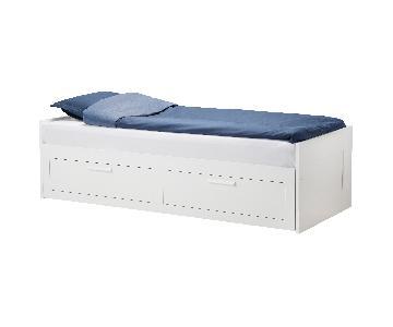 Ikea Brimnes Twin Daybed w/ 2 Storage Drawers