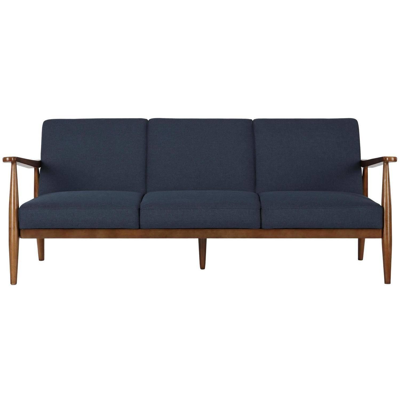 Mid Century Modern Danish Style Reclining Convertible Sofa ...