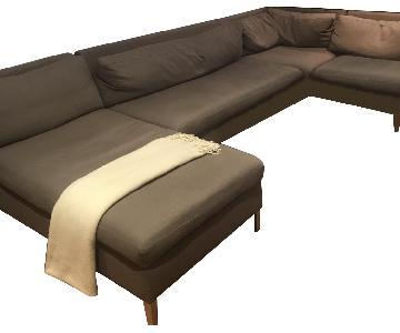 Ikea 4-Piece Sectional Sofa
