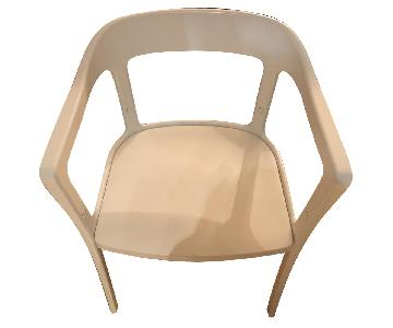 ABC Carpet and Home White Metal Chair