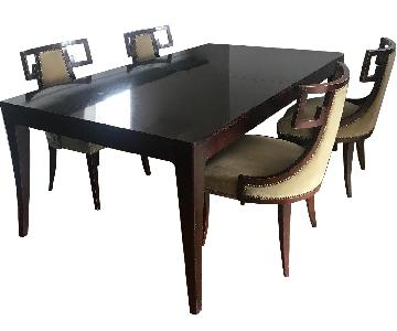 Baker Dining Table w/ 6 Baker Dining Chairs