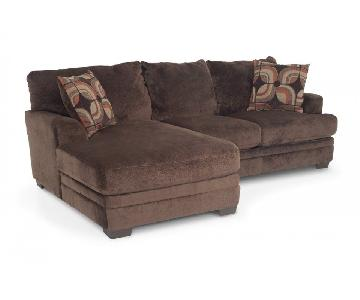 Bob's Charisma 2-Piece Sectional Sofa