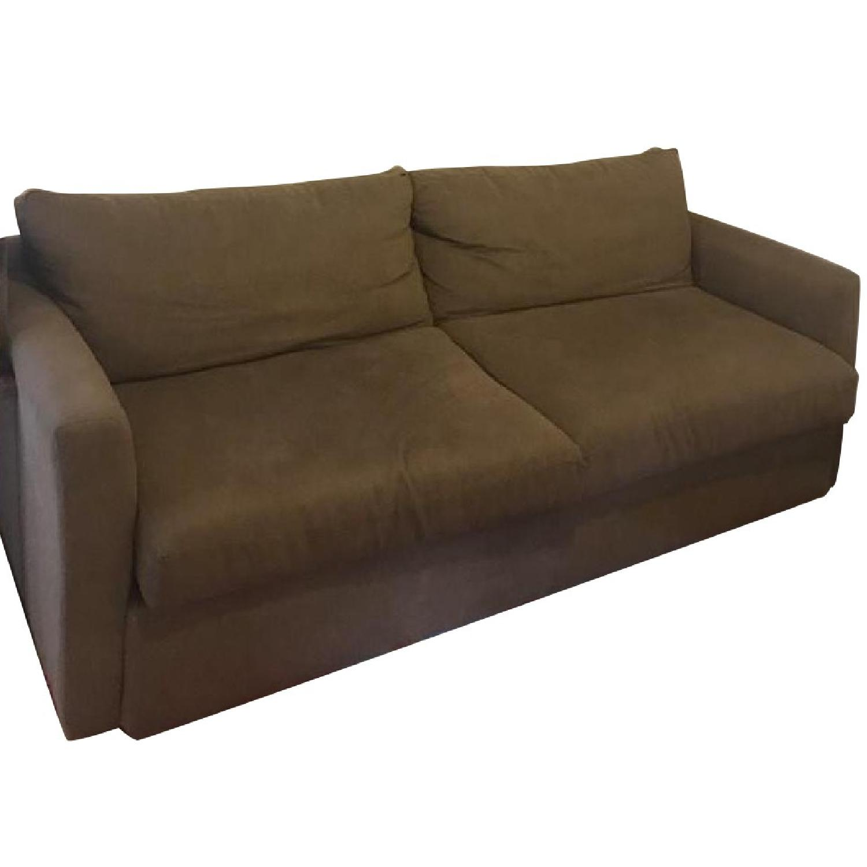 Tan Queen Pull Out Sleeper Sofa ...