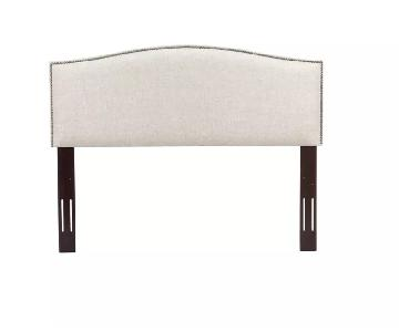Fashion Bed Full/Queen Adjustable Upholstered Headboard