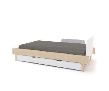 Oeuf River Twin Bed w/ Trundle Bed