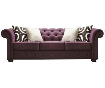 Kingstown Home Carthusia Chesterfield Tufted Sofa