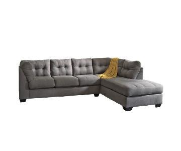 Ashley Maier Contemporary Sleeper Sectional Sofa