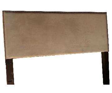 Pottery Barn Fillmore Square Upholstered Headboard