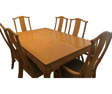 Bernhardt Oriental Expandable 7-Piece Dining Set