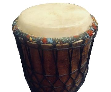 Bali Hand Carved Jembe Drum