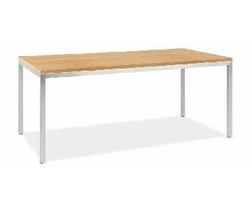 Room & Board Portica Dining Table w/ Maple Top