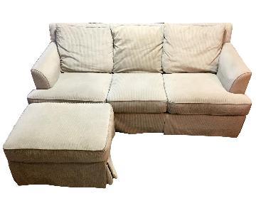 Macy's Hudson Sofa & Ottoman