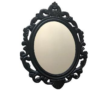 Black & Turquoise Mirrors