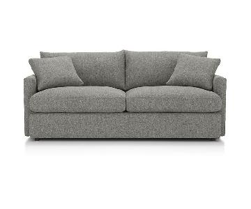 Crate & Barrel Lounge II Petite Sofa