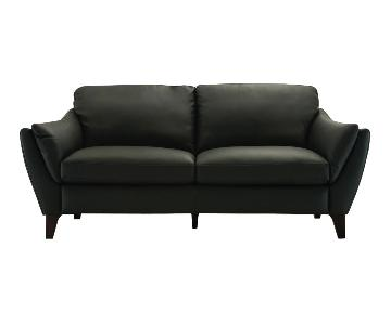 Natuzzi Greccio Italian Leather Sofa