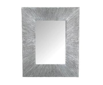 Mitchell Gold + Bob Williams Rivulet Silver Leaf Mirror