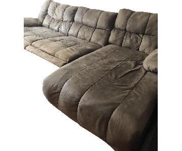 Raymour & Flanigan Reclining Sectional Sofa