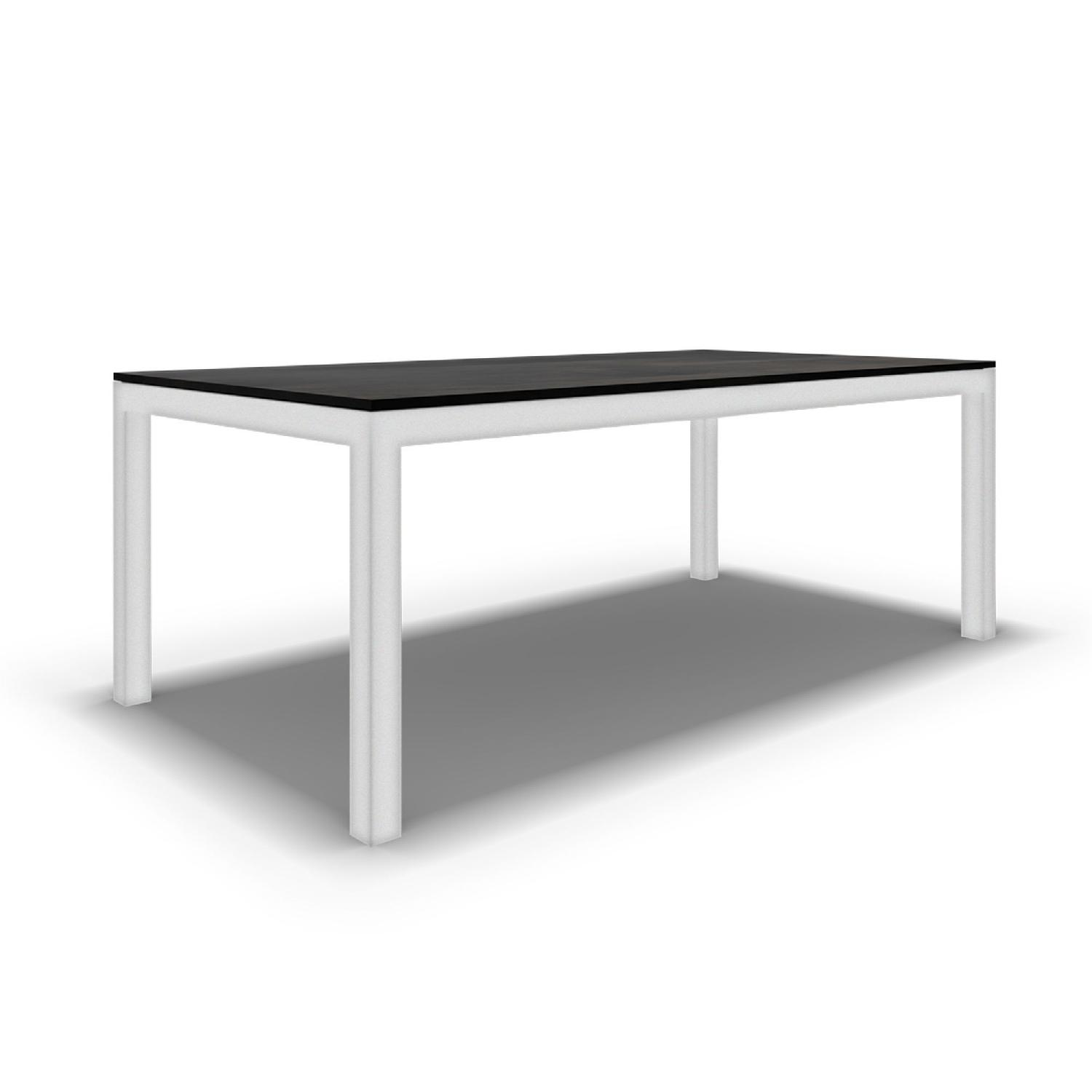 Mitchell Gold + Bob Williams Parsons White Base Coffee Table