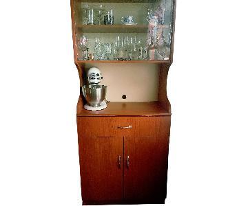 Kitchen Storage Unit w/ Shelves