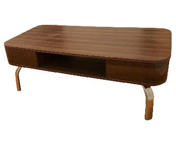 Furniture of America Modern Coffee Table w/ Storage