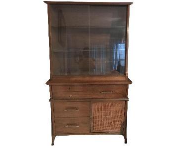 Wooden Kitchen Display Cabinet