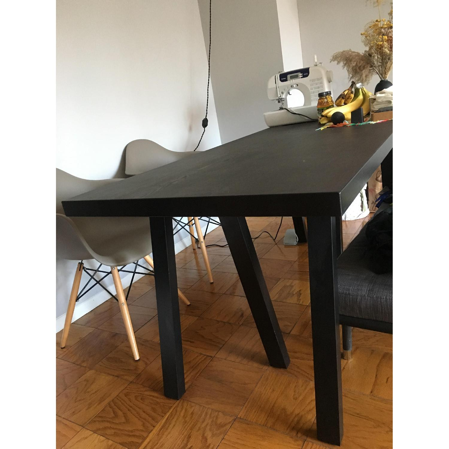 Ikea Lacquered Dining Table