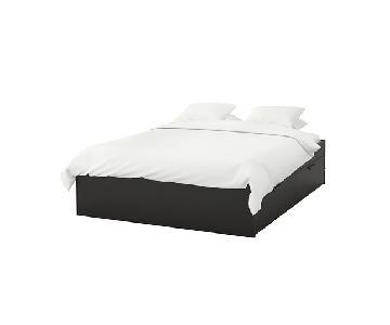 Ikea Brimnes Full Bed Frame w/ Storage