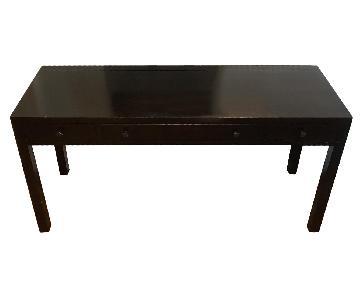 Room & Board Brown Wood Desk