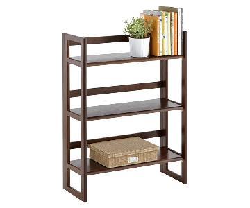 Container Store Java Folding Bookshelf