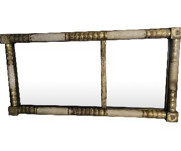 Antique Rustic Mirror
