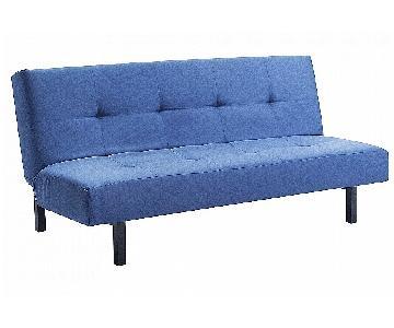Ikea Balkarp Dark Blue Futon
