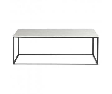Blu Dot Minimalista Marble Coffee Table