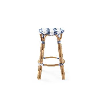 Serena & Lily Riviera Backless Counter Stool