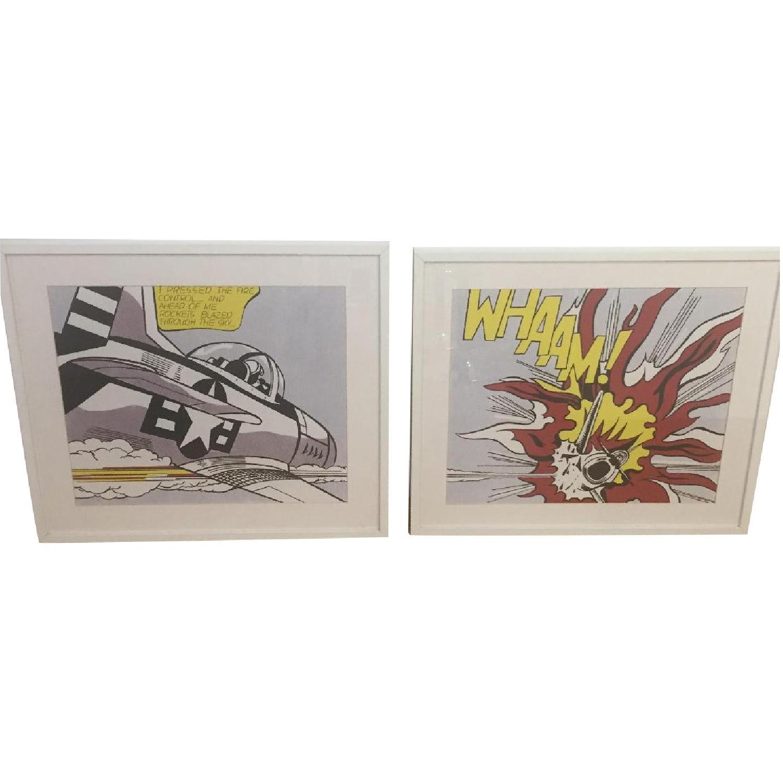 Roy Lichtenstein Framed Art Prints