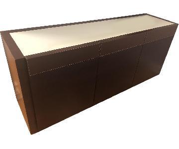 Calligaris Modulo Glass Top Sideboard