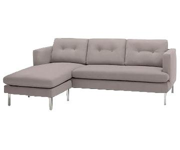 West Elm Jackson 2-Piece Chaise Sectional Sofa
