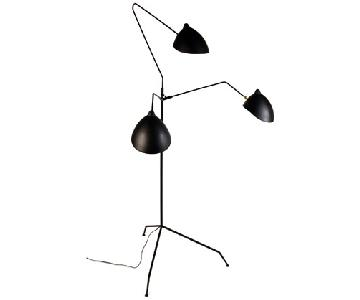 Organic Modernism Praying Mantis Lamp
