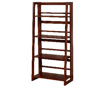 Target Four Shelf Folding Bookcases