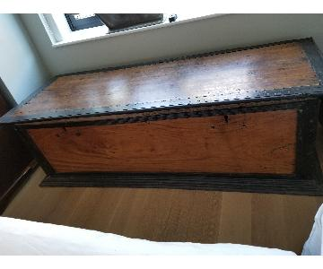 Vintage 19th Century South African Trunk