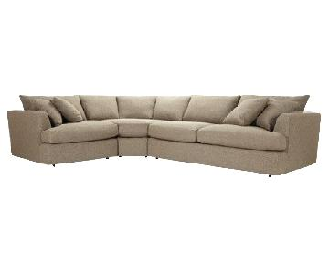 Arhaus Emory 3 Piece Sectional Sofa