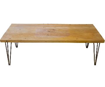 Scott Cassin Reclaimed Beech Coffee Table